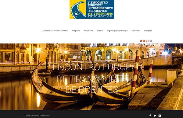 1º ENCONTRO EUROPEU DE TRANSPORTE DE DOENTES / Aveiro