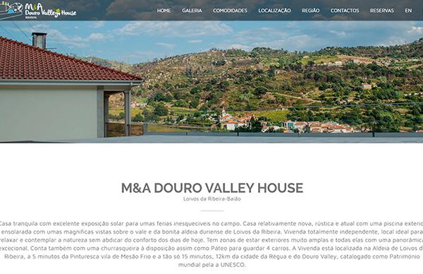M&A DOURO VALLEY HOUSE / Loivos da Ribeira, Baião